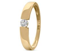 Ring aus 375 Gold mit 0.15 Karat Diamant-54