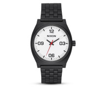 Quarzuhr Time Teller A1247-005-00 Corp Black / White