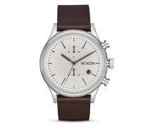 Chronograph Station Leather A1163-104-00 Cream