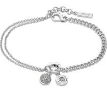 Armband aus Sterling Silber mit 73 Zirkonia