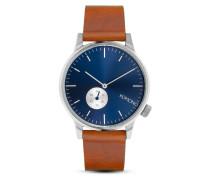 Quarzuhr Winston Subs Blue / Cognac KOM-W3003