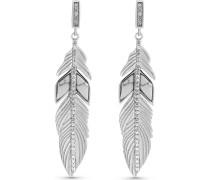 JETTE Silver Damen-Ohrhänger 925er Silber 4 Stein