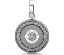 JETTE Silver Damen-Charm Lucky Charm 925er Silber Zirkonia