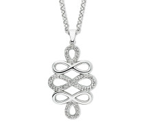 Halskette mit Swarovski-Steinen