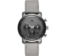 MVMT Herren-Uhren Analog Quarz