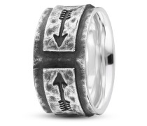 Ring Fast Arrow aus 925 Sterling Silber-58