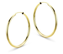 Creolen aus 585 Gold | Durchmesser 30 mm | Stärke 2 mm
