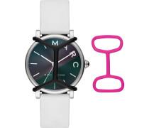Marc Jacobs Damen-Uhren Analog Quarz