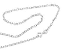 Halskette aus 375 Weißgold