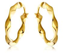 Creolen aus 375 Gold