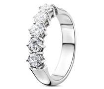 Ring aus 375 Weißgold mit 1 Karat Diamanten-54
