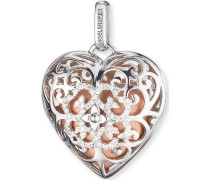 Kettenanhänger aus Sterling Silber mit Zirkonia