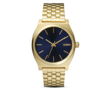 Quarzuhr Time Teller A045 1931 All Light Gold / Cobalt