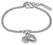 JETTE Silver Damen-Armband Connection 925er Silber 50 Zirkonia