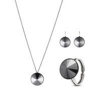 Set Rivoli mit Halskette, Ohrhängern & Ring