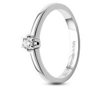 Ring aus 585 Weißgold mit 0.10 Karat Diamant-52