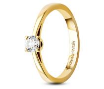 Ring aus 585 Gold mit 0.25 Karat Diamant-54