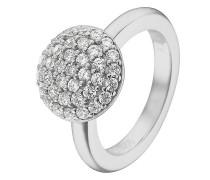 Ring aus Sterling Silber mit 37 Zirkonia