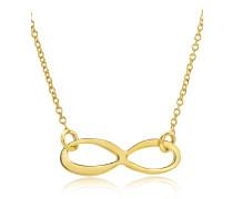 Halskette 'Infinty' aus 375 Gold