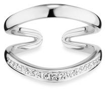 Ring Fluid Curves aus 925 Sterling Silber mit Topasen-50