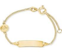 FAVS. Unisex-Armband 375er Gelbgold