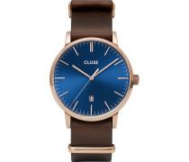 Cluse Herren-Uhren Analog Quarz