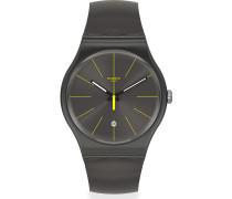 Swatch Herren-Uhren Analog Quarz