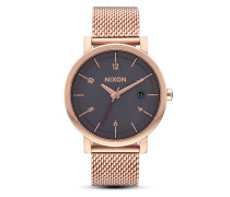 Quarzuhr Rollo 38 SS A1087-2449-00 All Rose Gold / Charcoal