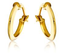Creolen aus 375 Gold | Stärke 2 mm