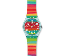 Swatch Damen-Uhren Rund Analog Quarz
