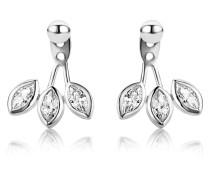 Ohrstecker Ear Jackets aus 925 Sterling Silber mit Zirkonia