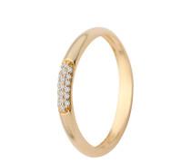 Ring aus 375 Gold mit 0.06 Karat Diamanten-52