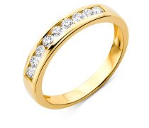 Ring aus 750 Gold mit 0.30 Karat Diamanten-52