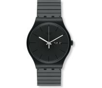 Swatch Herren-Uhren Rund Analog Quarz