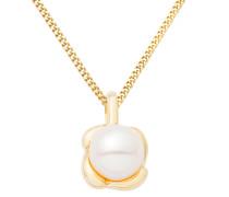 Halskette aus 375 Gold mit Süßwasserperle