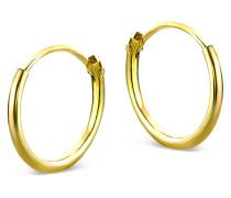 Creolen aus 333 Gold   Durchmesser 11mm   Stärke 1,3mm