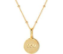 Koshikira Damen-Kette 925er Silber Silber/gold