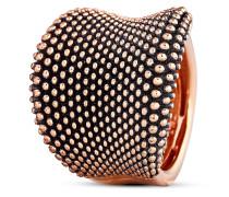Ring Pixel aus rosévergoldetem 925 Sterling Silber