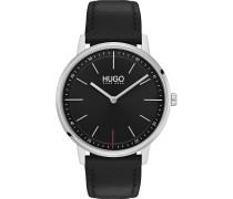 Hugo Herren-Uhren Analog Quarz