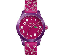 Lacoste Damen-Uhren Analog Quarz