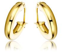 Creolen aus 375 Gold | Stärke 3 mm