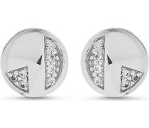 JETTE Silver Damen-Ohrstecker 925er Silber 14 Zirkonia