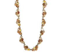 Halskette Petit Glamour aus Metall mit Glassteinen