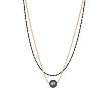Halskette aus 925 Sterling Silber mit Tahiti-Zuchtperle