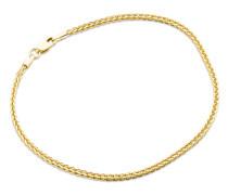 Armband aus 585 Gold   Breite 2 mm