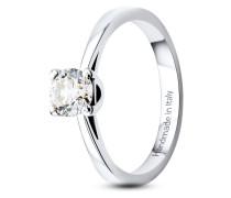 Ring aus 585 Weißgold mit 0.50 Karat Diamant-52