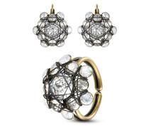 Set Bended Lights mit Ohrhängern & Ring