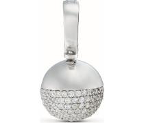 Kettenanhänger aus Sterling Silber mit 138 Zirkonia