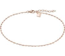 Qooqi Damen-Fusskette 925er Silber