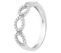 Ring aus 375 Weißgold mit 0.50 Karat Diamanten-05